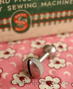 Screw, Long Thumb Screw for Hemstitcher or Swiss Zigzagger Attachment Singer (Vintage Original)