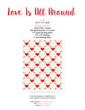 Pattern, Love is All Around Quilt (digital download)
