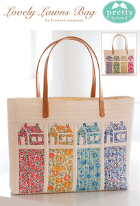 PATTERN, LOVELY LAWNS BAG by Kristyne Czepuryk Pretty by Hand