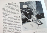 Machine Sewing Book, Singer 1953