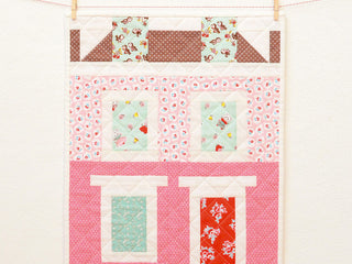Load image into Gallery viewer, Pattern, Notting Hill House MINI Quilt by Ellis & Higgs (digital download)