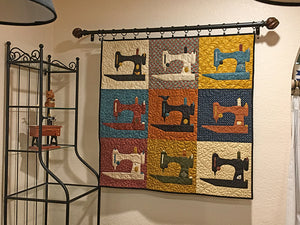 "PATTERN, ""Flock of Singers"" Wall-Hanging Quilt"