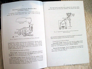 Manual, ADJUSTER'S for Singer Featherweight 221 (New)