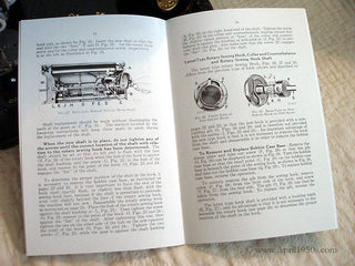 Load image into Gallery viewer, Manual, ADJUSTER'S for Singer Featherweight 221 (New)
