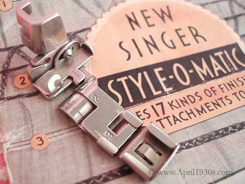 Style-O-Matic, Vintage Singer