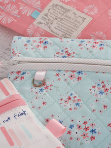 "PATTERN, ""Amy's Pretty Pockets"" Zippered Pouch by Kristyne Czepuryk Pretty by Hand"
