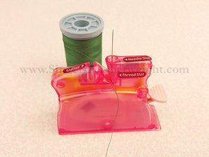 Desk Needle Threader and Cutter