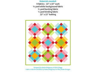 Load image into Gallery viewer, Pattern, Plaid MINI Quilt by Ellis & Higgs (digital download)