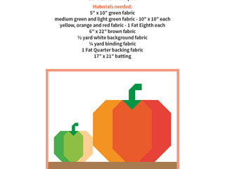 Load image into Gallery viewer, Pattern, Pumpkin Patch MINI Quilt by Ellis & Higgs (digital download)