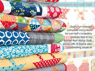 Load image into Gallery viewer, PATTERN BOOK, Quilty Fun - Lessons in Scrappy Patchwork by Lori Holt