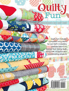 PATTERN BOOK, Quilty Fun - Lessons in Scrappy Patchwork by Lori Holt