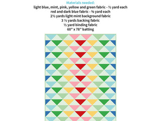 Load image into Gallery viewer, Pattern, Rainbow Geese Quilt by Ellis & Higgs (digital download)