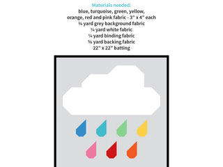 Load image into Gallery viewer, Pattern, Rainy Days MINI Quilt by Ellis & Higgs (digital download)