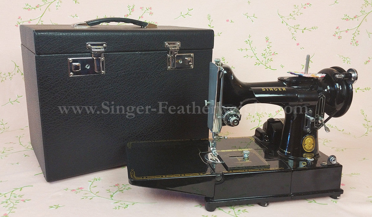 Singer 222 K Featherweight Sewing Machine Instructions Manual,MachineNOTincluded