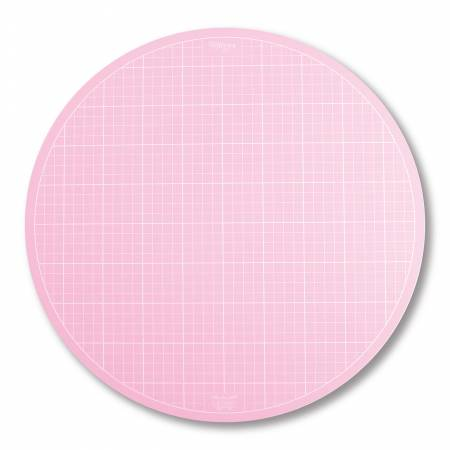 Sue Daley Round Rotating Cutting Mat - 10 Inches Pink