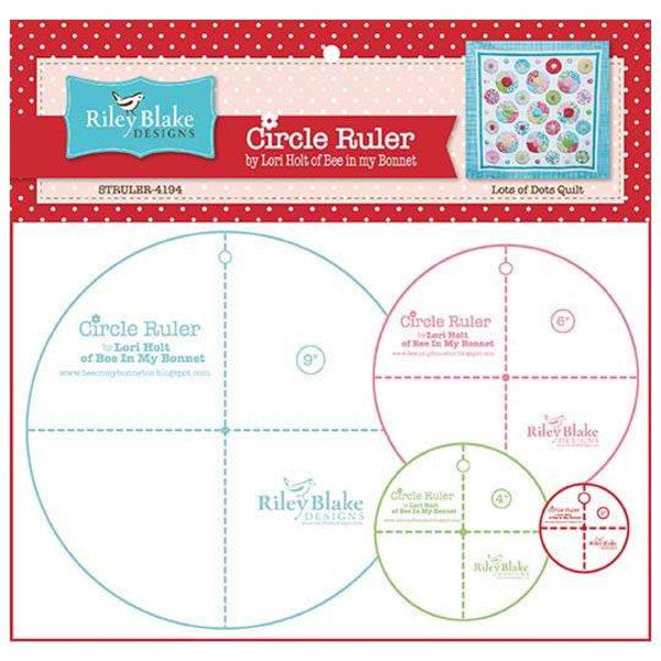 Cutting Ruler SET, Circle Ruler by Lori Holt - 2