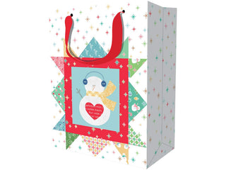 Load image into Gallery viewer, Bag, CHRISTMAS Gift Bags Set of 24 by Lori Holt