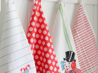Load image into Gallery viewer, Sweet Christmas Tea Towels Set of 4 by Urban Chiks