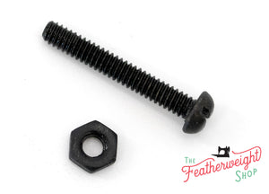 Screw and Nut, for Bakelite Plug - NEW