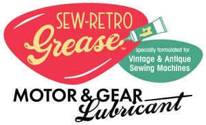 SEW-RETRO Grease, Motor & Gear Lubricant for Vintage and Antique Sewing Machines