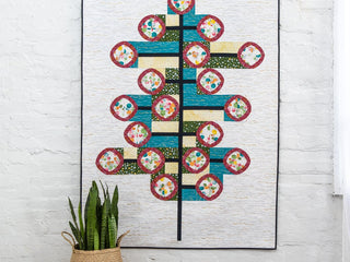 "Load image into Gallery viewer, PATTERN, ""POSH Topiary"" Quilt by Sew Kind of Wonderful"