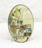 OVAL Small Sewing Trinket & Gift Box - Nostalgic COLLECTIBLE TIN