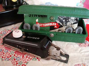 Buttonholer Attachment, Singer (Vintage Original)