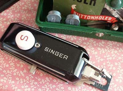Buttonholer Attachment, Vintage Singer