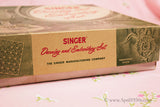 Embroidery Darning Set, Vintage Singer