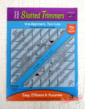 Slotted Trimmer Ruler Set by New Leaf Stitches