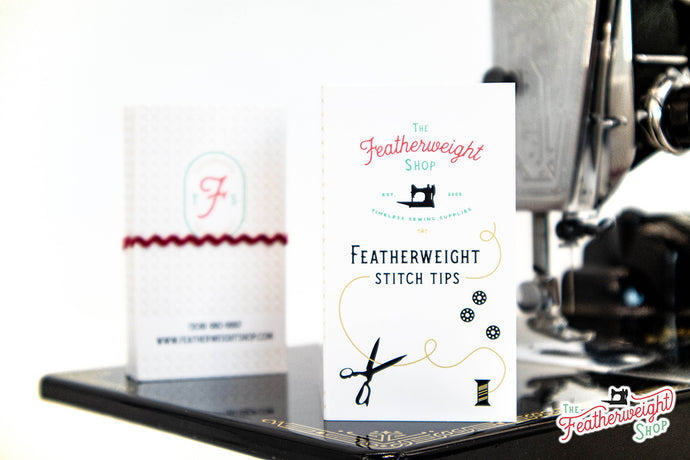 Stitch Tips Cards for the Singer Featherweight 221 & 222 - Bundle of 40