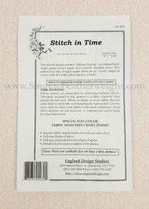 PATTERN, Singer Featherweight Paper-Pieced Wall-Hanging - Stitch in Time