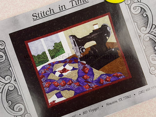 Load image into Gallery viewer, PATTERN, Singer Featherweight Paper-Pieced Wall-Hanging - Stitch in Time