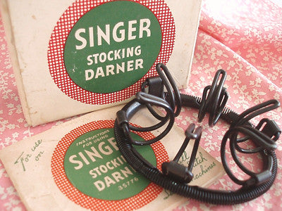 Stocking Darner, Vintage Singer