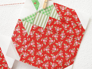 Load image into Gallery viewer, Pattern, Strawberry Quilt Block by Ellis & Higgs (digital download)