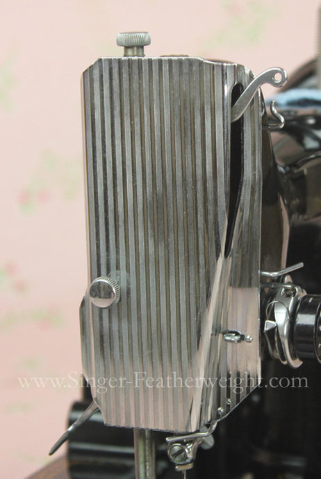 Faceplate, Striated Singer Featherweight (Vintage Original)