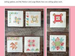 Load image into Gallery viewer, PATTERN BOOK, Summer Moon Block of the Month by Carrie Nelson for It's Sew Emma