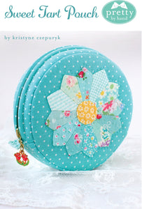 PATTERN, SWEET TART Zippered Pouch by Kristyne Czepuryk Pretty by Hand