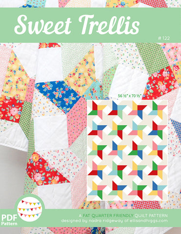 Pattern, Sweet Trellis Quilt (digital download)