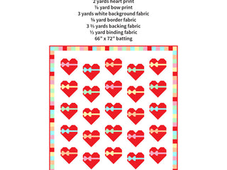 Load image into Gallery viewer, Pattern, Sweetheart Quilt by Ellis & Higgs (digital download)