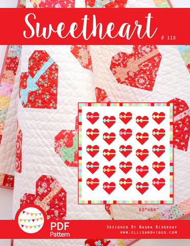 Pattern, Sweetheart Quilt (digital download)