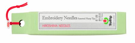 Tulip Embroidery Needles Assorted Sharp Tip Thin - #7, 8, 9, 10