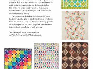 Load image into Gallery viewer, PATTERN BOOK, The Big Book of One-Block Quilts