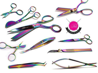 Load image into Gallery viewer, Tula Pink Hardware EZ Stitch Snip With Hook Blade - 4.5  Inch
