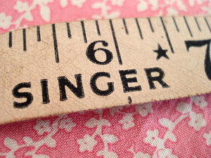Measuring Tape, Singer (Vintage Original)
