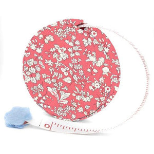 Tape Measure, Liberty London, Metric & Imperial Measuring - ORCHARD ROSE
