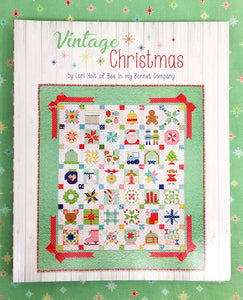 PATTERN BOOK, Vintage Christmas by Lori Holt of Bee in My Bonnet