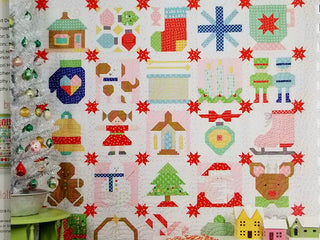 "Load image into Gallery viewer, PATTERN BOOK, ""Vintage Christmas"" by Lori Holt of Bee in My Bonnet"