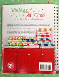 "PATTERN BOOK, ""Vintage Christmas"" by Lori Holt of Bee in My Bonnet"