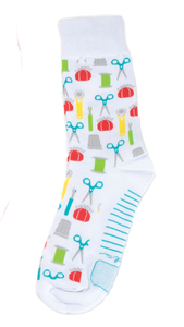 Quilt Socks, Fun Sewing & Quilting Sock Thoughts by Moda Fabrics